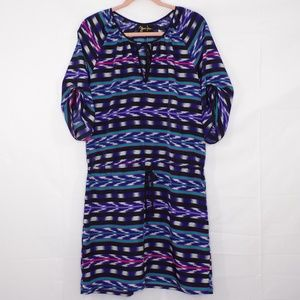 Yumi Kim Aztec Print dress, Sz L